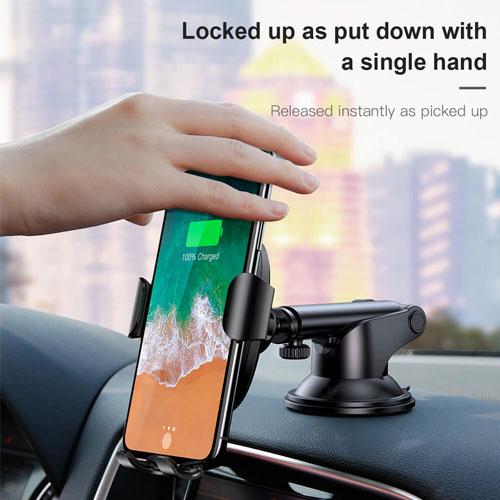 Baseus Osculum Wireless Dashboard Car Charger