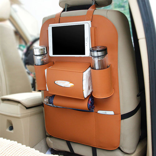 Creative Storage Leather Car Back Seat S...
