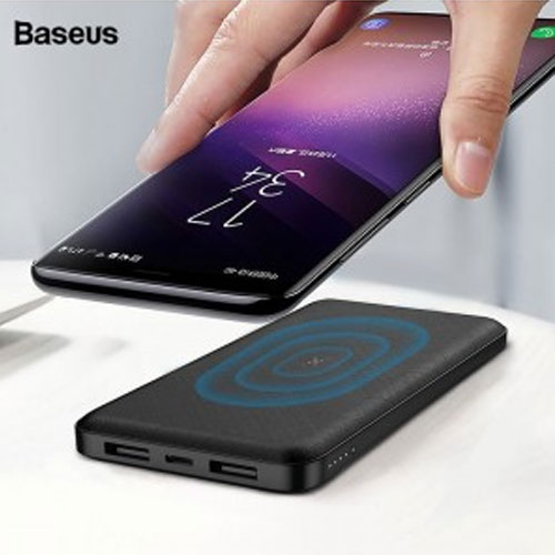 Baseus Dual USB 10000mAh Wireless Charger Power Bank