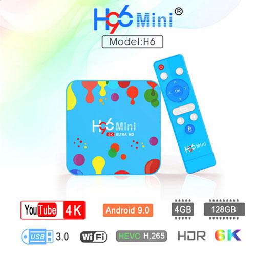 H96 MINI H6 6K Android 9.0 Smart TV BOX ...