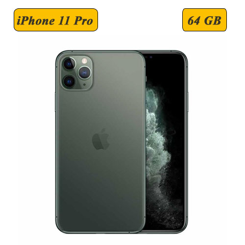 Apple iPhone 11 Pro 64 GB - Midnight Gre...