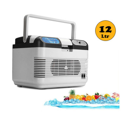 Portable Cooling & Heating Refrigerator For Home & Car  12 L