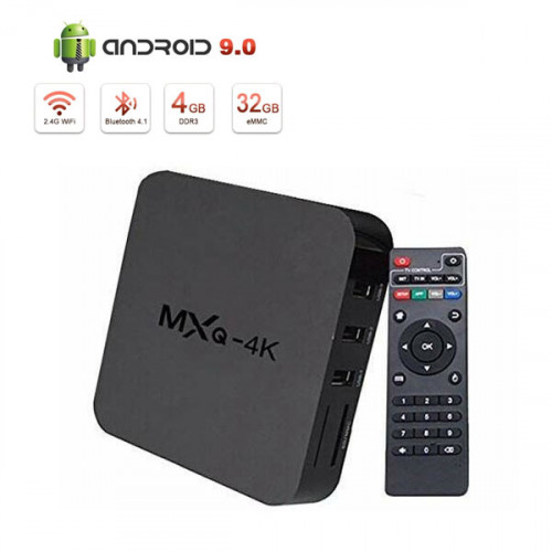 MXQ 4K Android 9.0 Smart Android TV Box ...