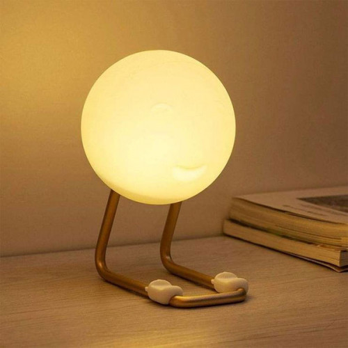 3D Moon Lamp with Mobile Stand