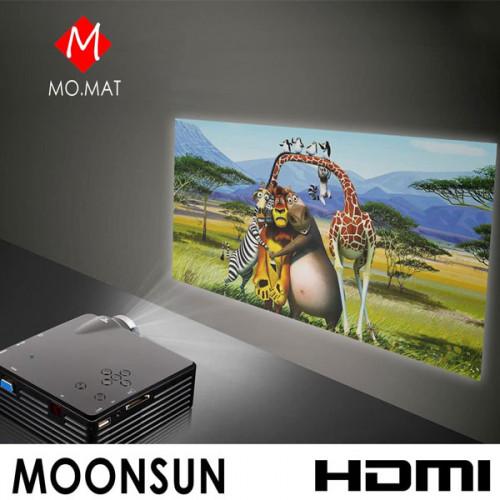 MOONSUN Portable HDMI Mini Projector