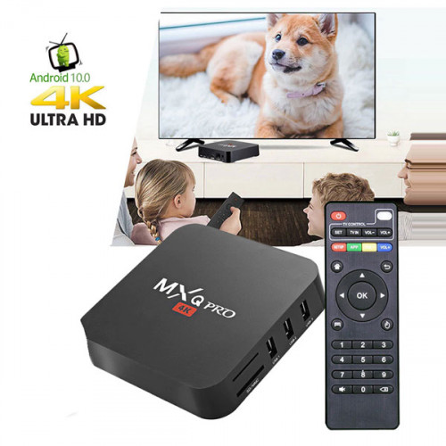 MXQ Pro 4K Android TV Box 4GB RAM and 64...