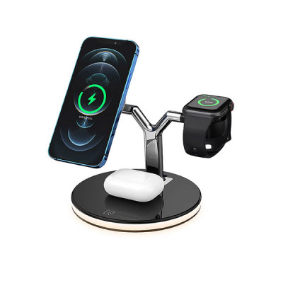 3 in 1 Magnetic Wireless Charger 25W Fast Charging Dock Station