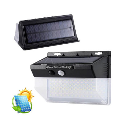 Solar LED Wall Light with Motion Sensor