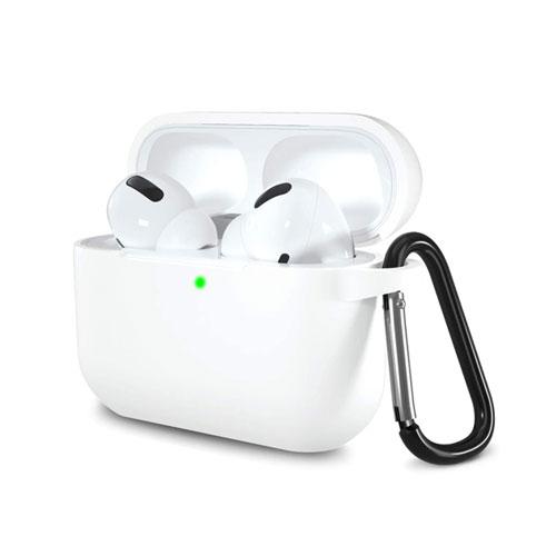 Airpods Pro Silicon Case - White