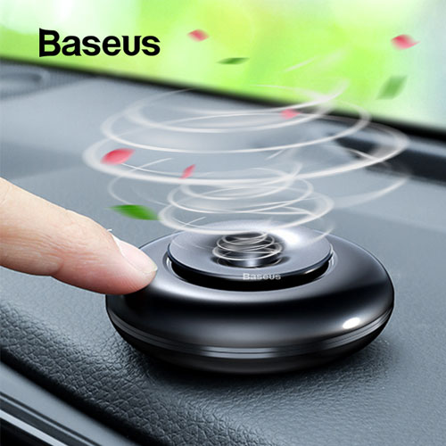 Baseus Metal Car Air Freshener ( with 4 Fragrance )