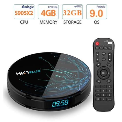 HK1 4K Plus Android 9.1 RK3328 Quad Core...