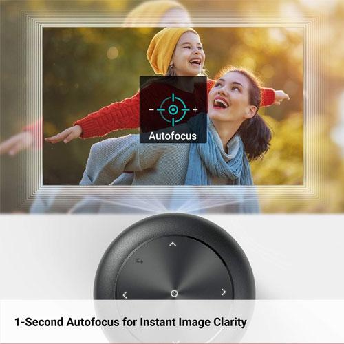Nebula Capsule II Android TV Smart Mini Projector + Free Tripod