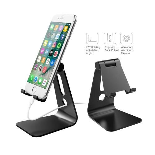 Mini Multi-Angle Aluminum Desk Stand For...