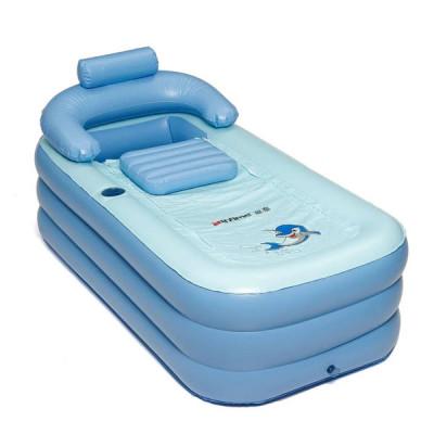 Portable Folding Inflatable Bath Tub 160x84x64cm