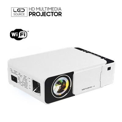 T5 Portable HDMI WiFi LED Projector 4K 2600 Lumens