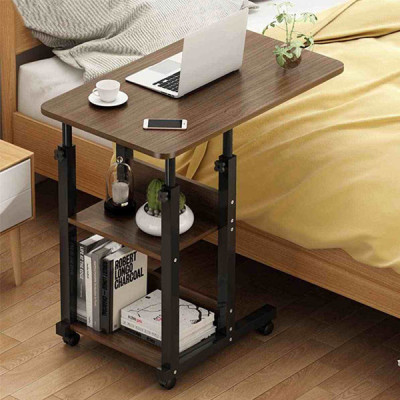 Portable Adjustable Height 3 Tier Laptop Desk