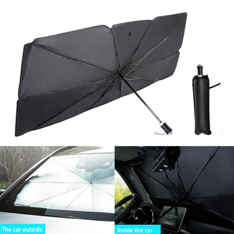 Umbrella Shaped Front Windshield Sun Shade for Car