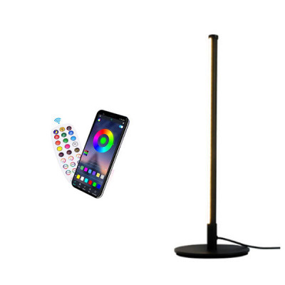 RGB LED Portable Table Lamp with Remote and Application