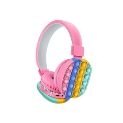 Wireless Bluetooth Pop-It Headset - Pink