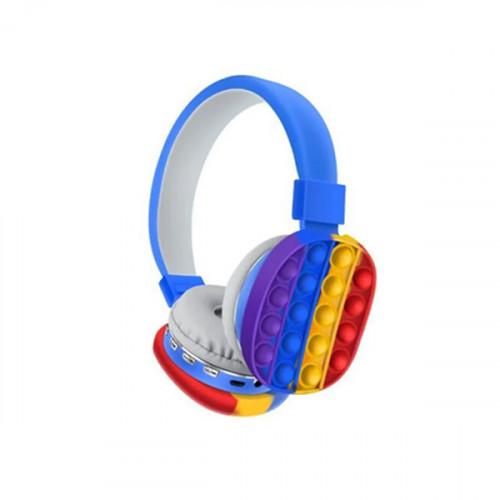 Wireless Bluetooth Pop-It Headset - Blue