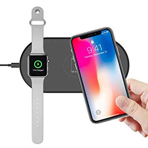 COTEetCI 2 in 1 Wireless Fast Charger fo...