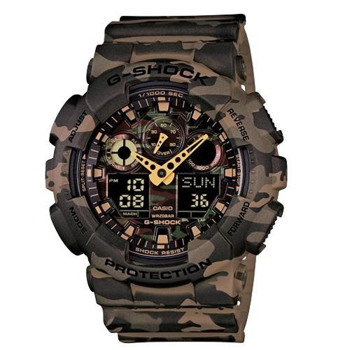 Casio G-Shock Analog-Digital Green Dial ...