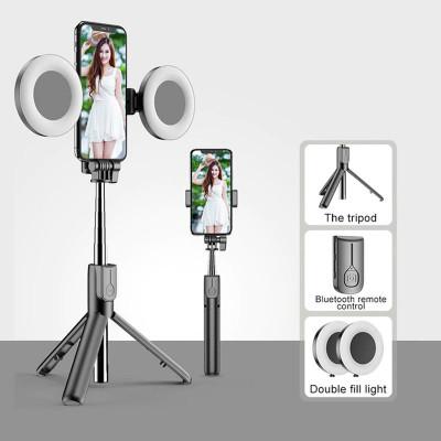 Dual Selfie Light Wireless Bluetooth Selfie Stick