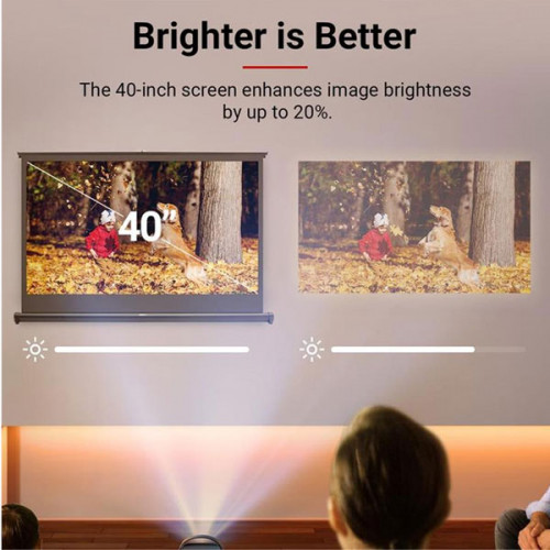 "Nebula Portable Screen by Anker 40"" Portable Projector Screen"