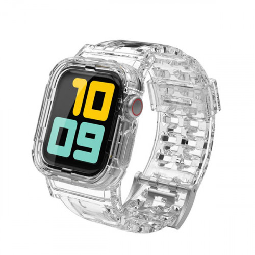 Crystal Clear Strap with Rugged Bumper C...