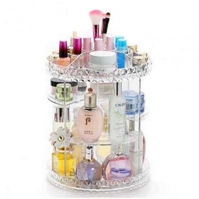 360 Degree Rotating Cosmetic Makeup Organizer