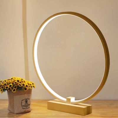 LED Table Lamps Modern Minimalist Round Shape  Night Light Decor And Lighting For Reading Bedroom