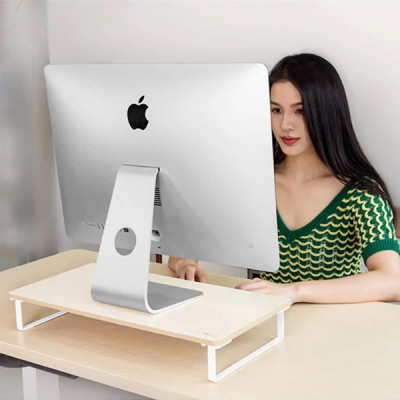 Wooden Mini Stand For iMac and Laptops ( 85 CM Height )