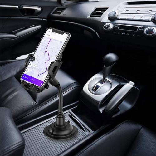 360° Rotation Adjustable Car Cup Holder Phone Mount