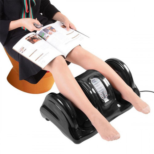 Personal Home Health Care Foot Massager with Remote - Black