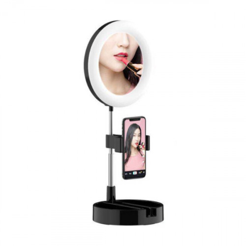 Foldable LED Selfie Ring Light 6 Inch wi...