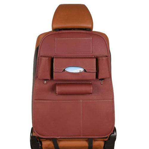 Creative Storage Leather Car Back Seat S...