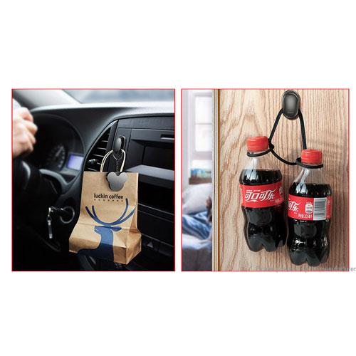 Baseus Self-adhesive Car Home Organizer Wall Hook Hanger (Pack of 4 )