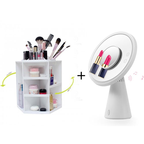 Bundle Offer - Rechargeable LED Makeup M...