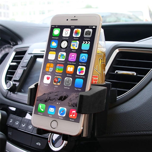 Multifunctional Car Air Vent Mobile Holder and Drink Holder
