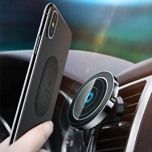 Baseus Qi Magnetic Wireless Car Charger Holder