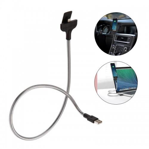 Flexible iPhone Lightning Car Dock