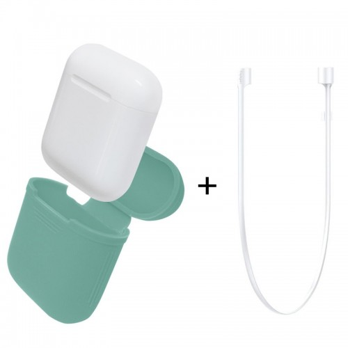 Apple AirPods Silicone Protective Case +...