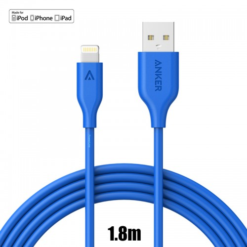 Anker PowerLine Cable For IOS Cable - Bl...