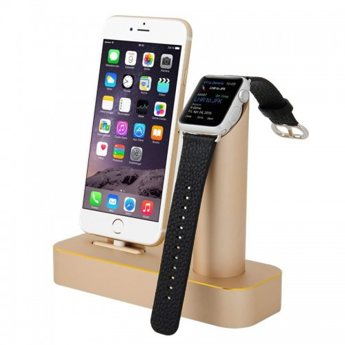 COTEetCI 2 in 1 Aluminum Charging Cradle...