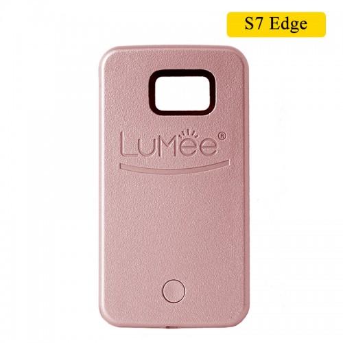 LUMEE Case For Samsung S7 Edge - Rose Go...