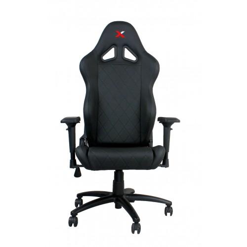 RapidX Ferrino Series Gaming Chair - Bla...