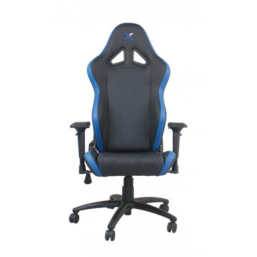 RapidX Ferrino Series Gaming Chair - Blu...