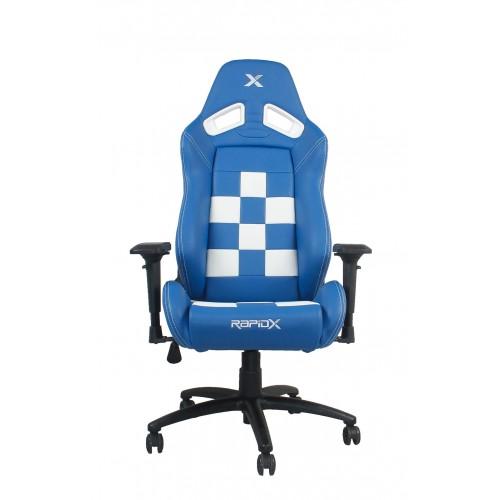 RapidX Finish Line Series Gaming Chair -...