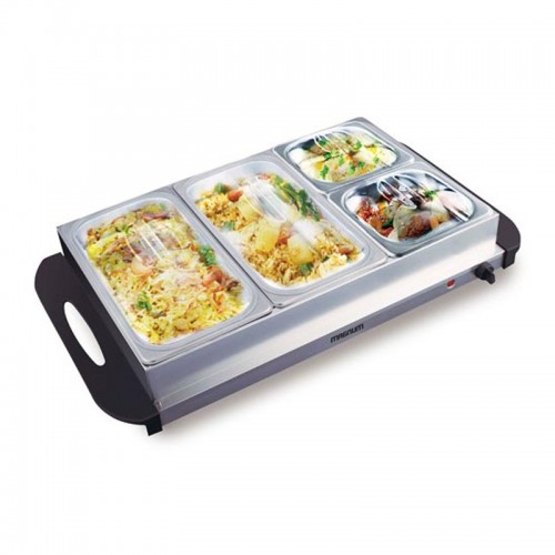 Magnum 4 Large Tray Family Buffet Food W...