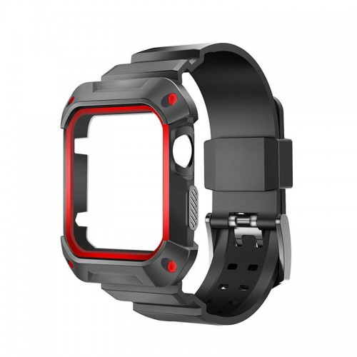 Rugged Protective Case with Strap for Ap...